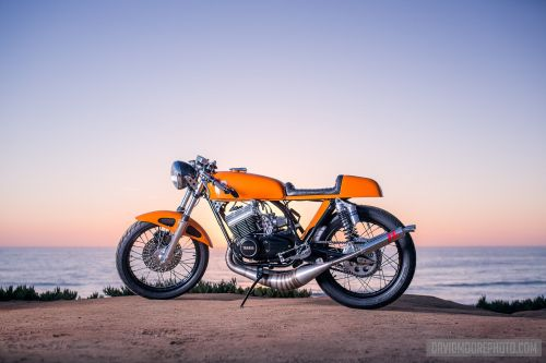 small resolution of  yamaha r5 rd350 rd400 cafe racer exhaust